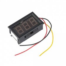 LED Mini Digital Voltmeter DC 0V - 99.9V  Panel-Meter Spannungsanzeige neu Rot