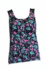 Cowl Neck Classic Floral Tops & Shirts for Women