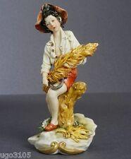 """Porcellana di Capodimonte """"Contadinello d'estate del Maestro Scapinello """""""