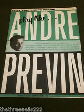 ORIGINAL SHEET MUSIC - PLAY LIKE ANDRE PREVIN