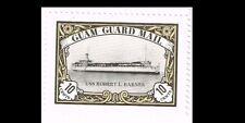 Guam Guard Mail  USS ROBERT L. BARNES Stamp Mint