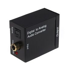 Digital to Analog Coaxial & Optical R+L Audio Converter