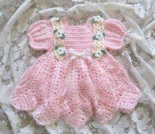 "Crochet Pattern for ""Baileigh"" Baby Dress by REBECCA LEIGH -6 to 12 months"