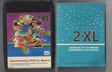 Mego 2-Xl Talking Robot 8 Track Tape Astronomy In Space With Booklet No Writing