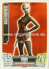 Asajj Ventress #112 - Force Attax Serie 2