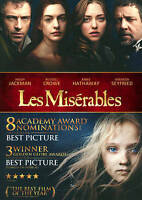 Les Misérables (DVD, 2013, Widescreen w/ Slipcover) Usually ships in 12 hours!!!
