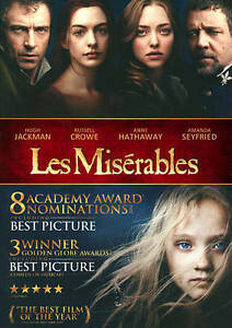 Les Miserables DVD Tom Hooper(DIR)