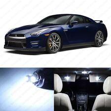 7 x Xenon White LED Interior Light Package For 2009 - 2014 Nissan GTR