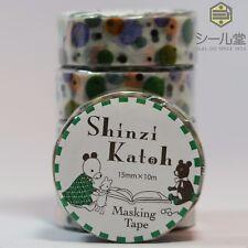 SEAL-DO Shinzi Katoh Washi Masking Tape - ks-mt-10025 - 5 ROLLS