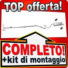 Scarico Completo FIAT PUNTO EVO 1.2 2009-2012 Marmitta R98