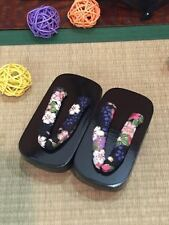 [wamami]1/3 Light Rose Red Wood Kimono Geta Timber Shoes Sandals For SD BJD Doll