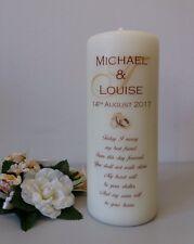 Personalised Monogram Wedding Unity Candle