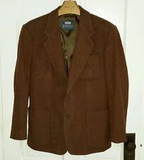 Louis Raphael Braggi Wool Sportcoat Jacket Blazer Mens 39R Burnt 54341 Korea