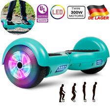 "NORTOK 6,5′ Hoverboard 15 km//h matt black Self Balancing Scooter 6.5/"" Vollgum"