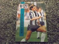 PRO SET FOOTBALL CARD - GARY BANNISTER, WEST BROMWICH ALBION