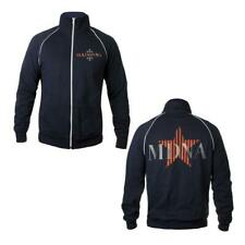 MADONNA - MDNA TOUR NAVY FLEECE ZIP TRACK JERSEY JACKET OFFICIAL 2012 NEW SMALL