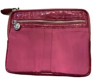"NWT Brighton IPAD Case Pouch ""VIP Ipad"" Fashionista Padded Purple 11""x8.5"""