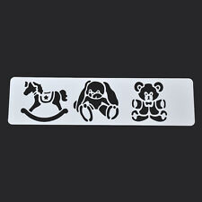 Cartoon Layering Spray Painted Stencils Hobbyhorse Scrapbooking Drawing Template