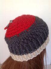Hand Knit Hat Beanie Cap Designer Fashion Hip Chic Ski Snowboarding  Women