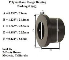 "(9002G) 1-1/4"" O.D. x 3/4"" I.D. Polyurethane Flange Bushing / Tubular A-Arms"