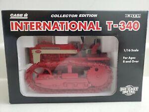 IH International T340 Crawler Tractor 1:16 Ertl Toy 1995 Case Collector Edition