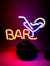 BAR DRINKS Neon sign retro cult Leuchtreklame signs Neonschild Neonleuchte news