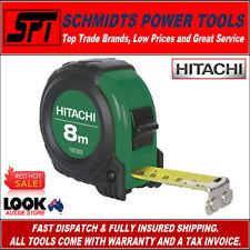 HITACHI 8 METRE METRIC TAPE MEASURE MAGNETIC 8m LONG 797203 - BRAND NEW