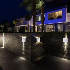 de luxe 4 Lot LED Eclairage extérieur projecteurs muraux éclairage patio aile