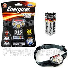 Energizer Vision HD + Focus LED Headlight 315 lumens Headlamp + 3 AAA batteries