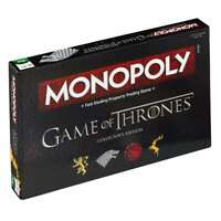OFFICIAL GAME OF THRONES MONOPOLY TRADING TRADITIONAL BOARD GAME NEW AND BOXED