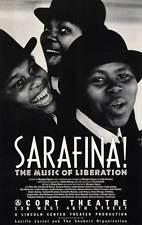 SARAFINA! (BROADWAY) Movie POSTER 27x40 Baby Cele Dumisani Dlamini Khumbuzile