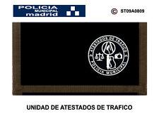 MONEDEROS POLICIALES: POLICIA MUNICIPAL DE MADRID / UNIDAD ATESTADOS DE TRAFICO