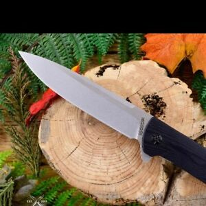 Big Guy Linerlock Manual Flipper knife  Black Father's Day red liners