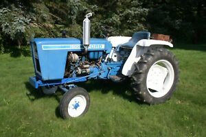 1979 Ford 1500 Compact Utility Tractor Diesel 12/4 Speed 2 Cyl 12 Volt 2WD