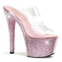 Pleaser Specialty Collection BEJEWELED-701MS *7 Heel, 2 3