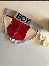 Box Menswear Underwear Jockstrap Red Size Large (L)Poss Gay Interest