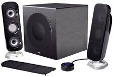 Cyber Acoustics CA-3908 Ca-3908 3pc 46w Subwoofer High Subw Powered Pc Speaker