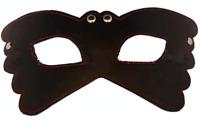 MASQUE LOUP CUIR BDSM DOMINATION YEUX DE CHAT BONDAGE SOUMISSION Mask Fetish