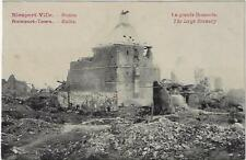 Nieuwpoort Nieuport - Ville 1914-1918 Ruines La grande Brasserie