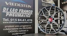 KIT 4 CERCHI FIAT 500 / 595 / 695 ABARTH DA 17 GMP N80 MANSORY ANTRACITE OPACO