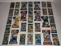 Lot of 31 Assorted / Authentic Pokemon Booster Packs / 12 Different Sets / NEW