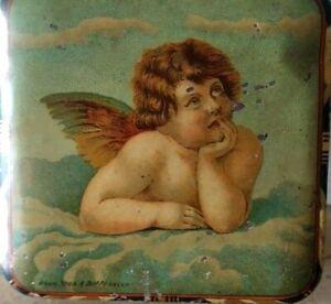 LAZZARONI SARONNO Amaretti - scatolina da assaggio in latta litografata - 1900