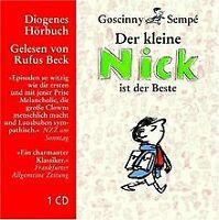 Der kleine Nick ist der Beste. Neun Geschichten (Audio CD)   Buch   Zustand gut