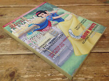 Royal Living Magazine Cover Snow White Wall Hanging Print Decor Princess Picture