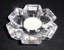 Reed & Barton Miller Rogaska Crystal Germany Tea Light Fiore Votive
