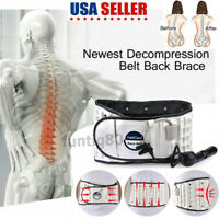 Spinal Air Traction Physio Decompression Waist Belt Brace Lumbar Pain Relief USA