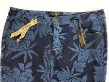 Lucky Brand Jeans 16W Ginger Mid Rise Skinny Floral Super Stretch