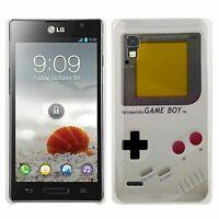 Housse Étui Coque Gameboy Rigide pour Téléphone Portable Lg Optimus P760/L9