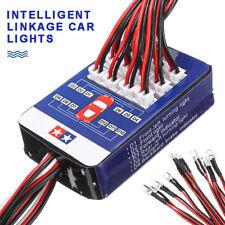 12 LED Lights Steering System Lighting Kit for TAMIYA TT-01 SCX10 CC01 RC Car CE