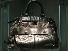 Luella By Mulberry Bag Brown & Metallic Bronze Leather Large